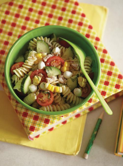 Salade De Pates Au Thon Au Mais Et Aux Tomates Cerises Ricardo