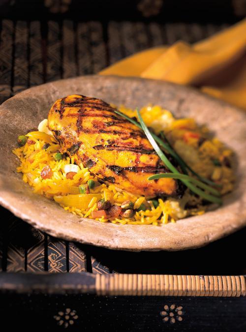 Poulet Tandoori Inde Ricardo - Cuisine indienne poulet tandoori