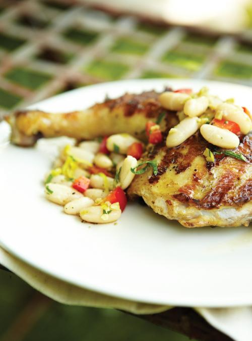 Cuisses de poulet au citron et au gingembre ricardo - Cuisse de poulet calories ...