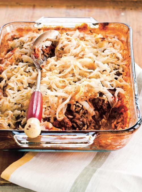 Layered Cabbage Rolls
