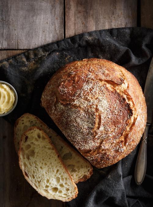 Crusty White Bread