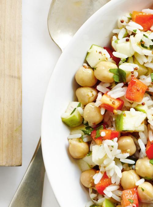 Salade De Riz Aux Pommes Et Au Poivron Ricardo