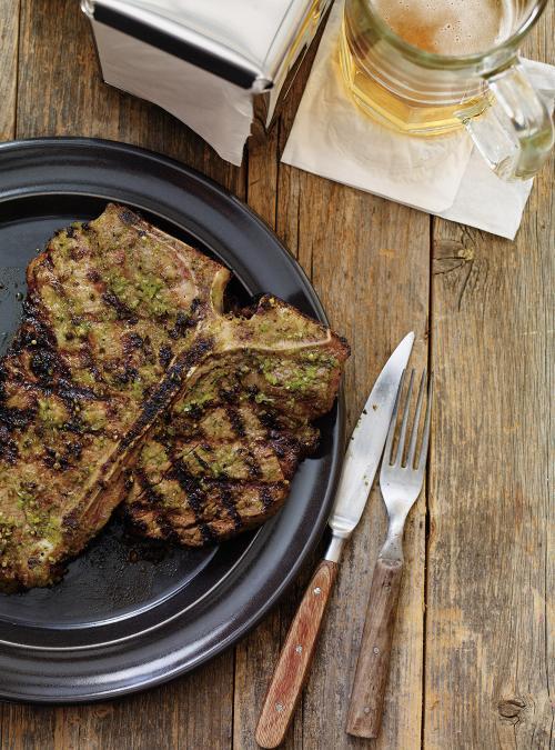 Marinated T-Bone Steaks