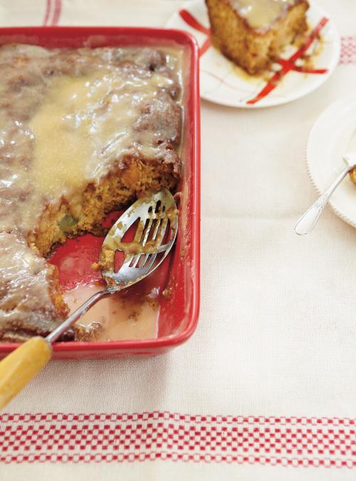gâteau à la salade de fruits | ricardo