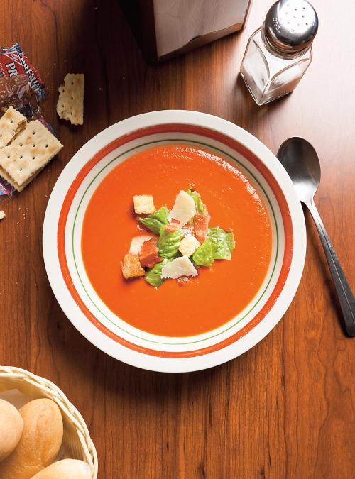 BLT Cream of Tomato Soup