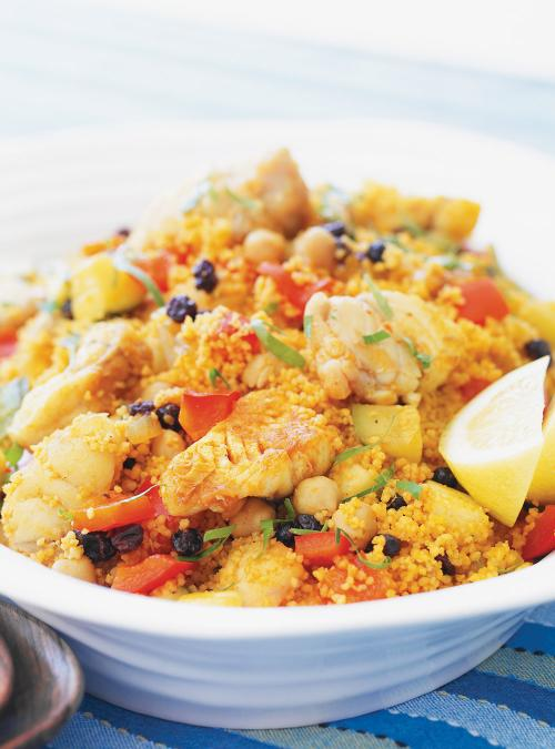 Tunisian-Style Couscous with Fish   Ricardo