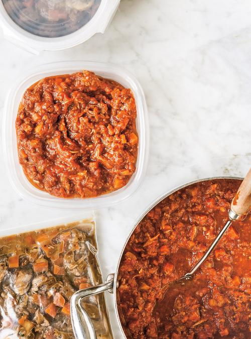 Spaghetti Sauce with Ribs