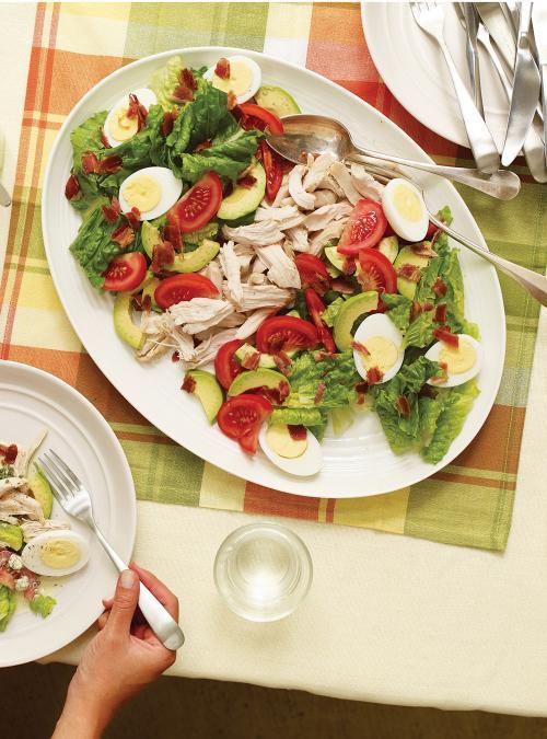 Salade,repas Cobb