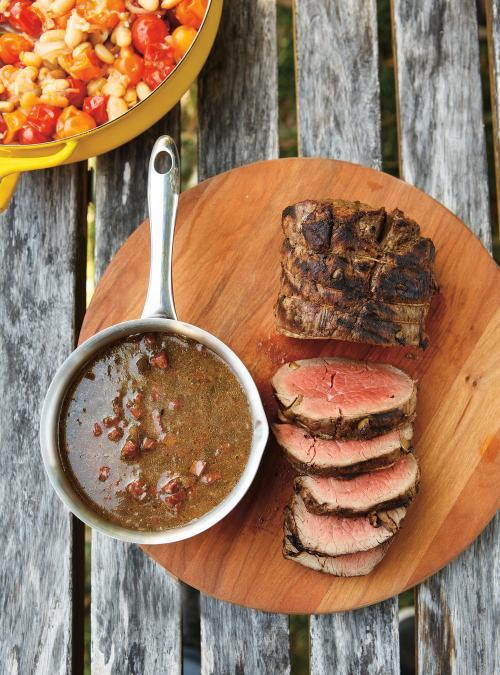 R ti de filet de boeuf aux olives et au chorizo ricardo - Cuisson filet de boeuf au four chaleur tournante ...