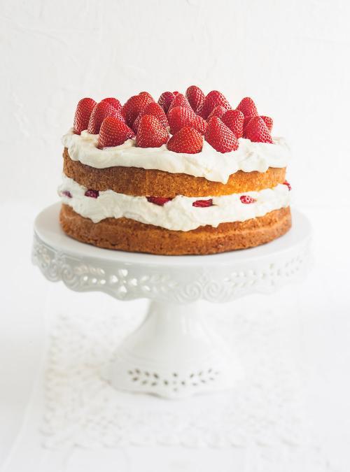 Shortcake aux fraises (le meilleur)