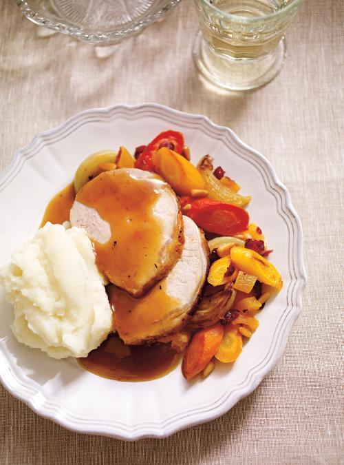 Christmas Spice Pork Roast