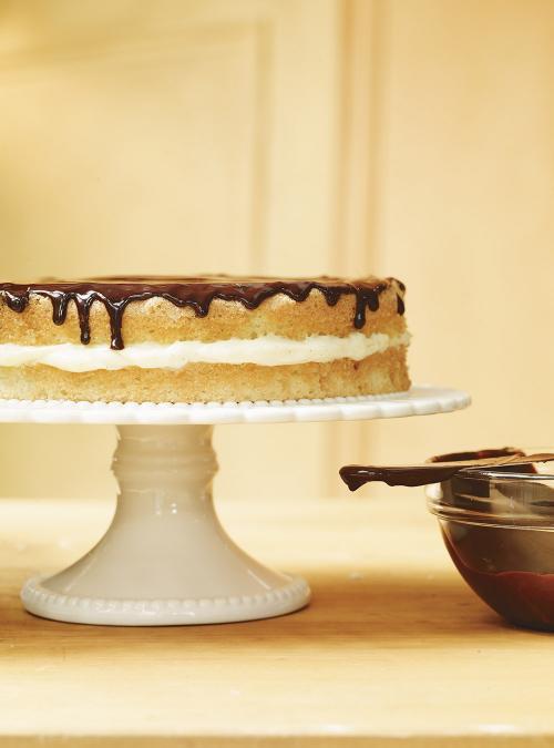Boston cream pie - 4 8