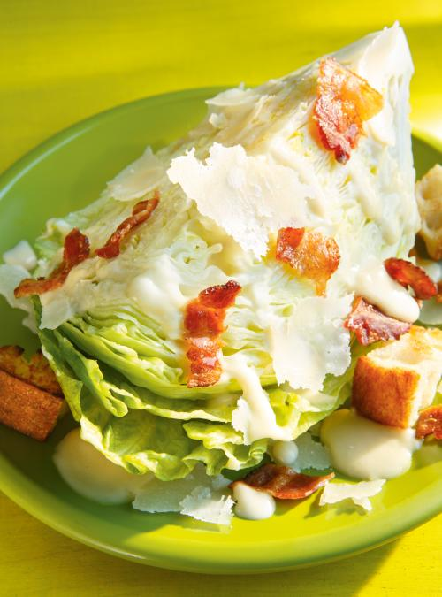 Salade c sar iceberg ricardo for Cuisine ricardo