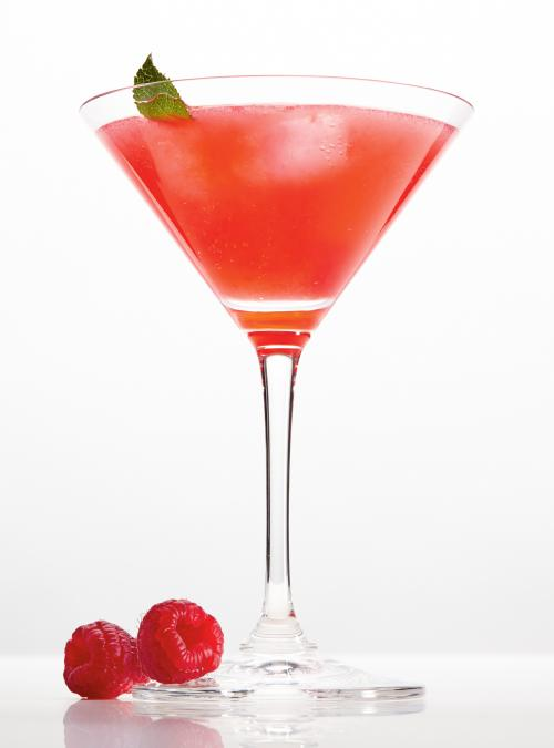 Raspberry and Aperol Cocktail