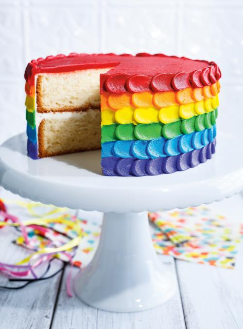 G teau arc en ciel ricardo - Gateau simple a faire ...