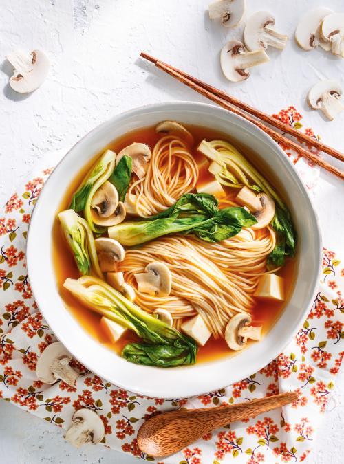 Tofu Ramen Soup Bowls