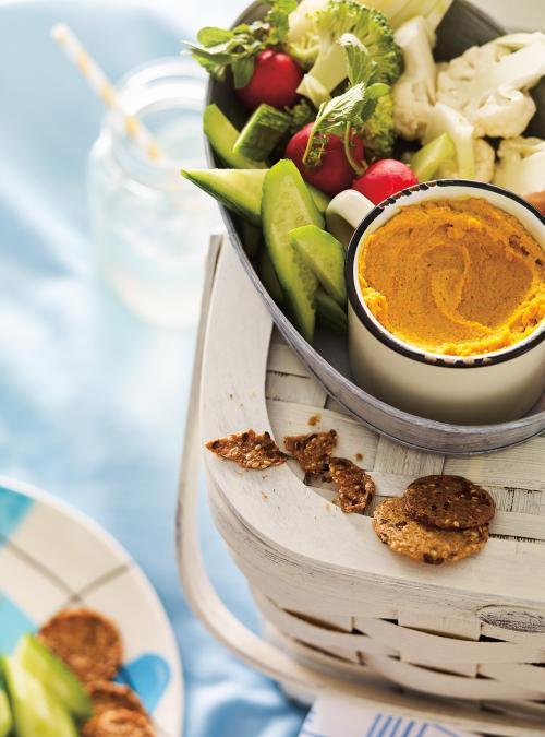 Tartinade aux carottes et aux noix de cajou