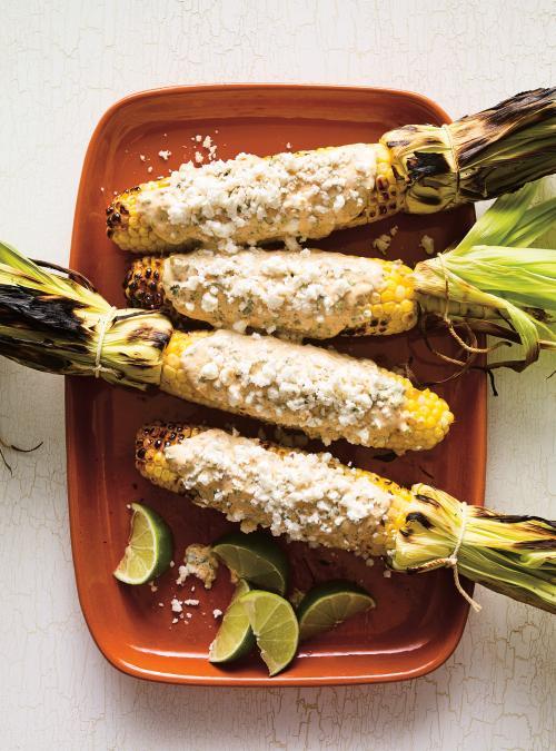 Maïs grillés au barbecue <i>(Elotes a la&nbsp;parrilla)</i>