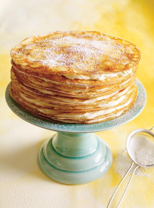 Gâteau mille‑crêpes