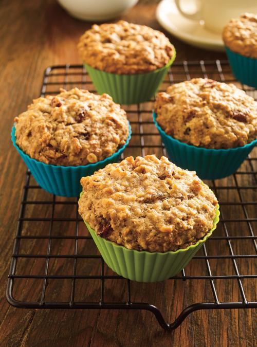 Muffins au son dans un pot
