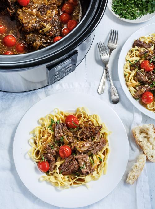 Stewed Beef and Tomatoes