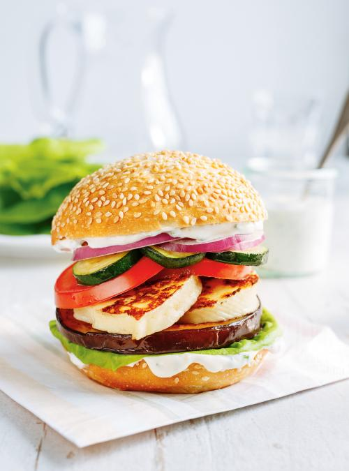 Veggie Cheeseburger