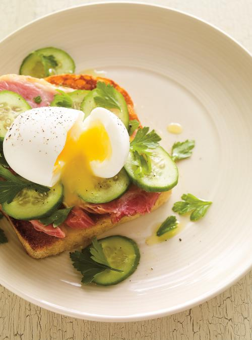 Ham and Egg Toast