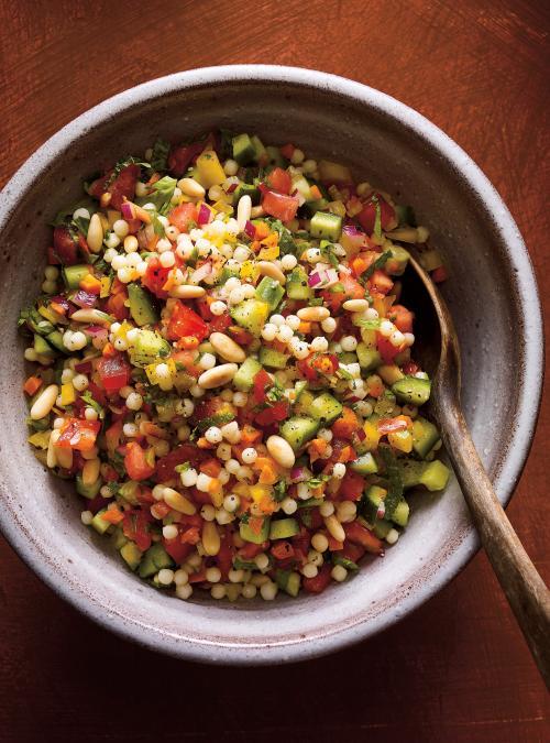Salade De Couscous Israelienne Ricardo