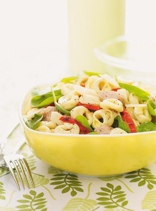 Salade De Tortellinis Au Thon Et Aux Epinards Ricardo
