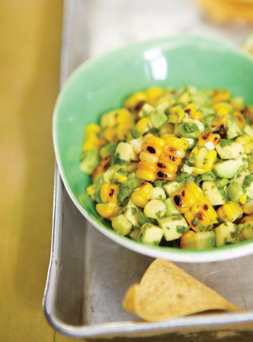 Avocado and Grilled Corn Salsa | Ricardo