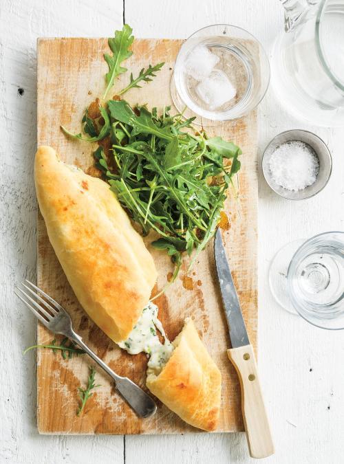 <em>Tronchetti</em> aux trois fromages