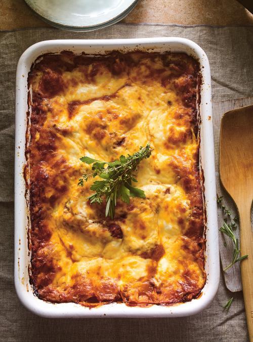 Lasagne <i>al ragù</i> à la béchamel