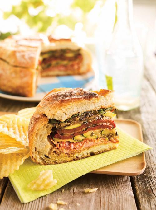 Muffuletta Picnic Sandwich
