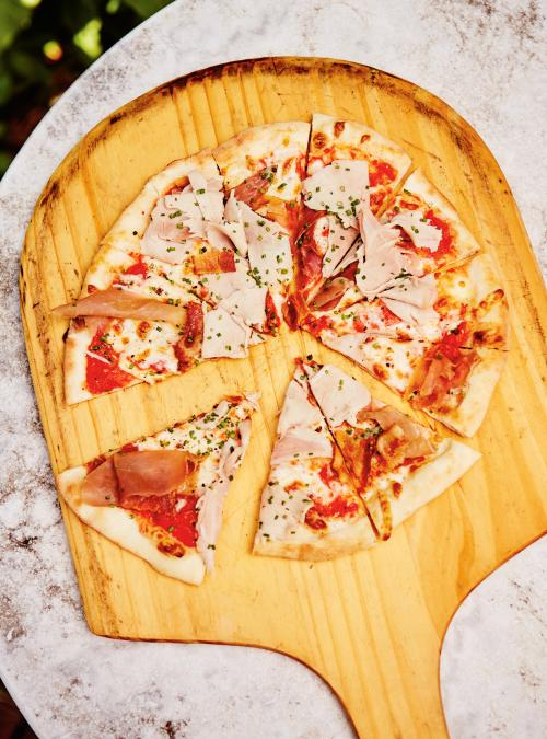 Pizza extra viande