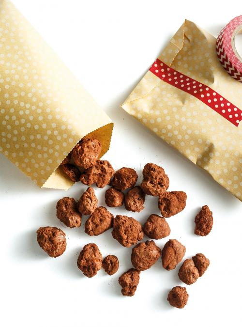 Chocolate-Covered Almonds and Raisins