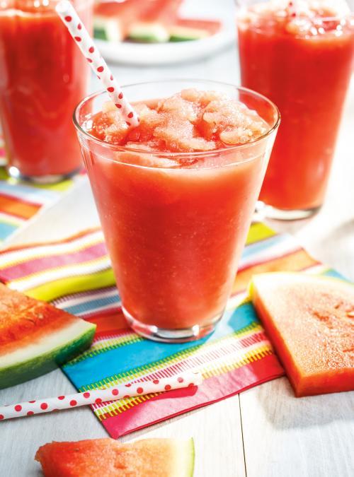 Watermelon Lemonade Slush