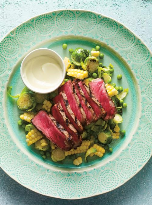 Wasabi-Marinated Steak