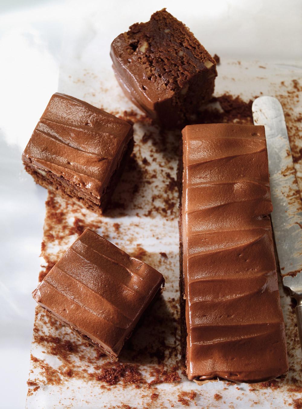 Brownies Aux Noix Et Glacage Au Chocolat Ricardo