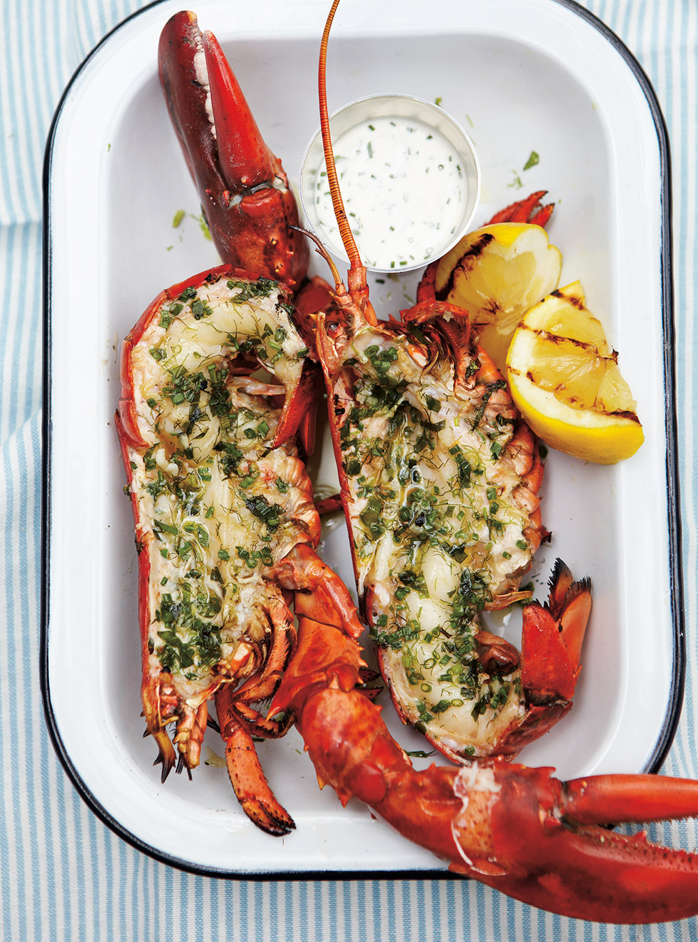 Homard grill aux herbes ricardo - Quel accompagnement avec un barbecue ...