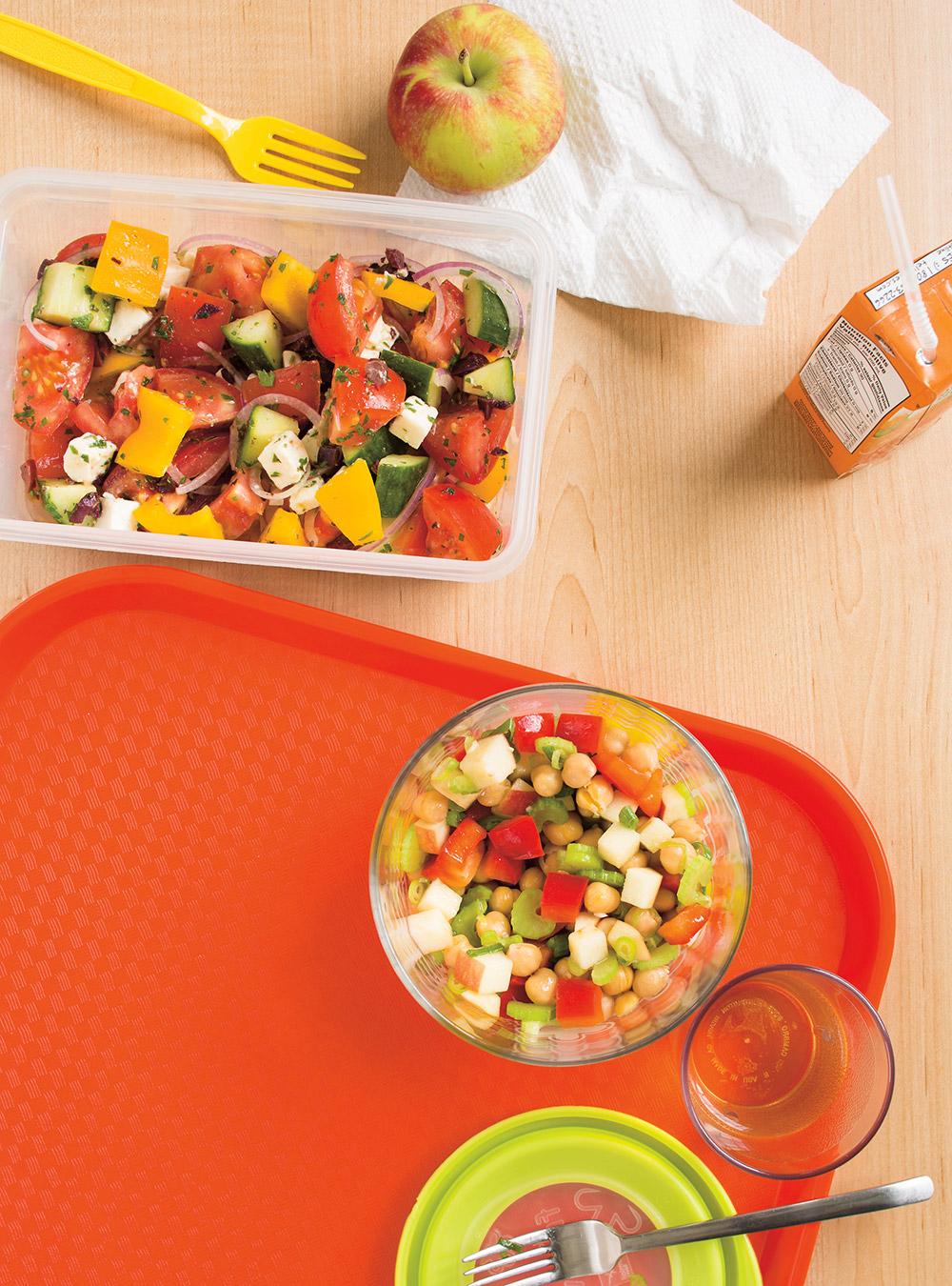 Salade grecque ricardo for Cuisine ricardo