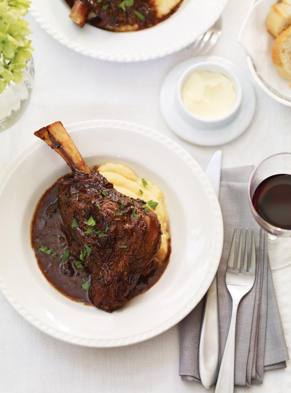 Braised Lamb Shanks with Prunes | Ricardo