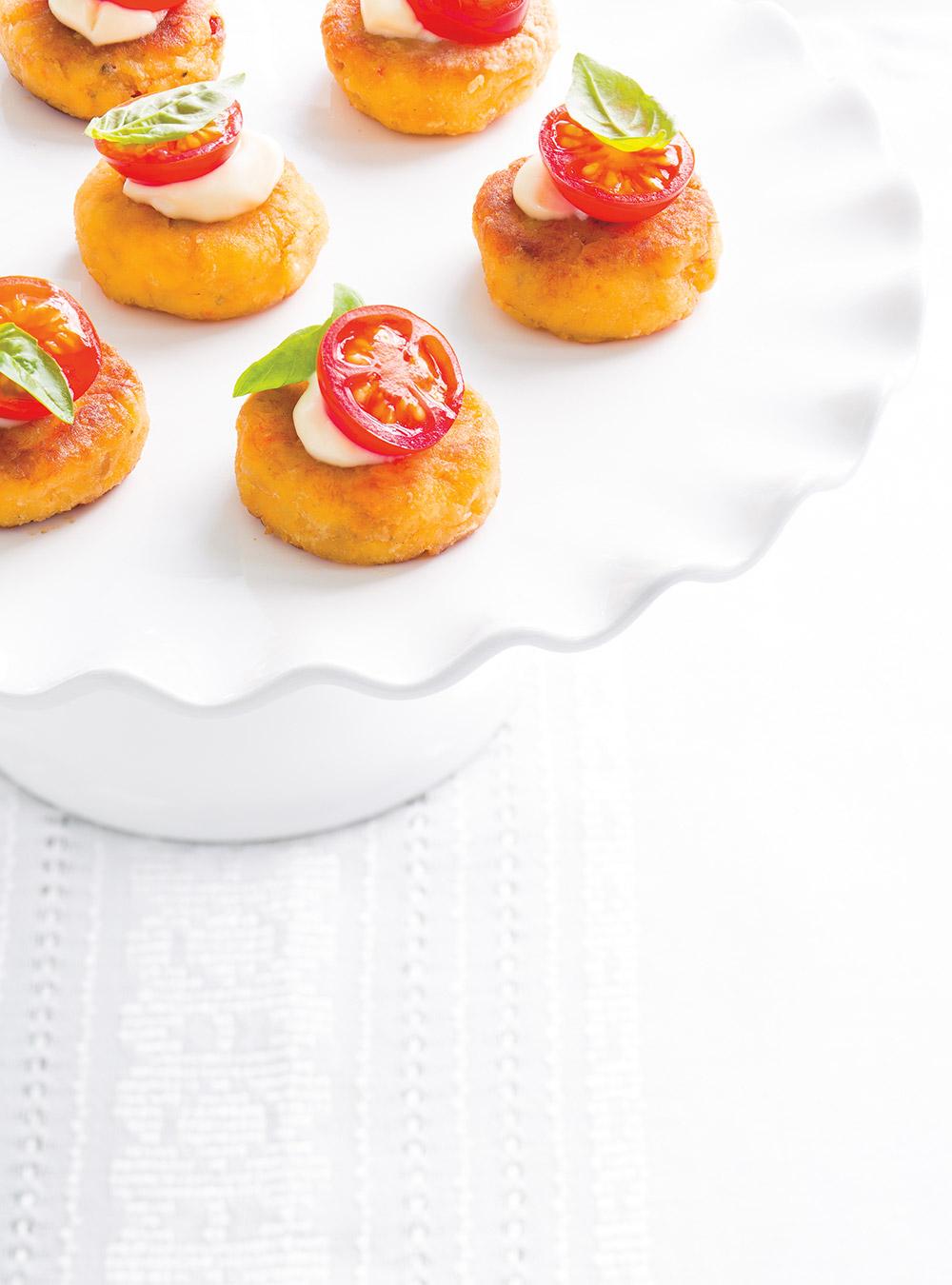 Bouch es de crabcakes ricardo for Article de cuisine ricardo