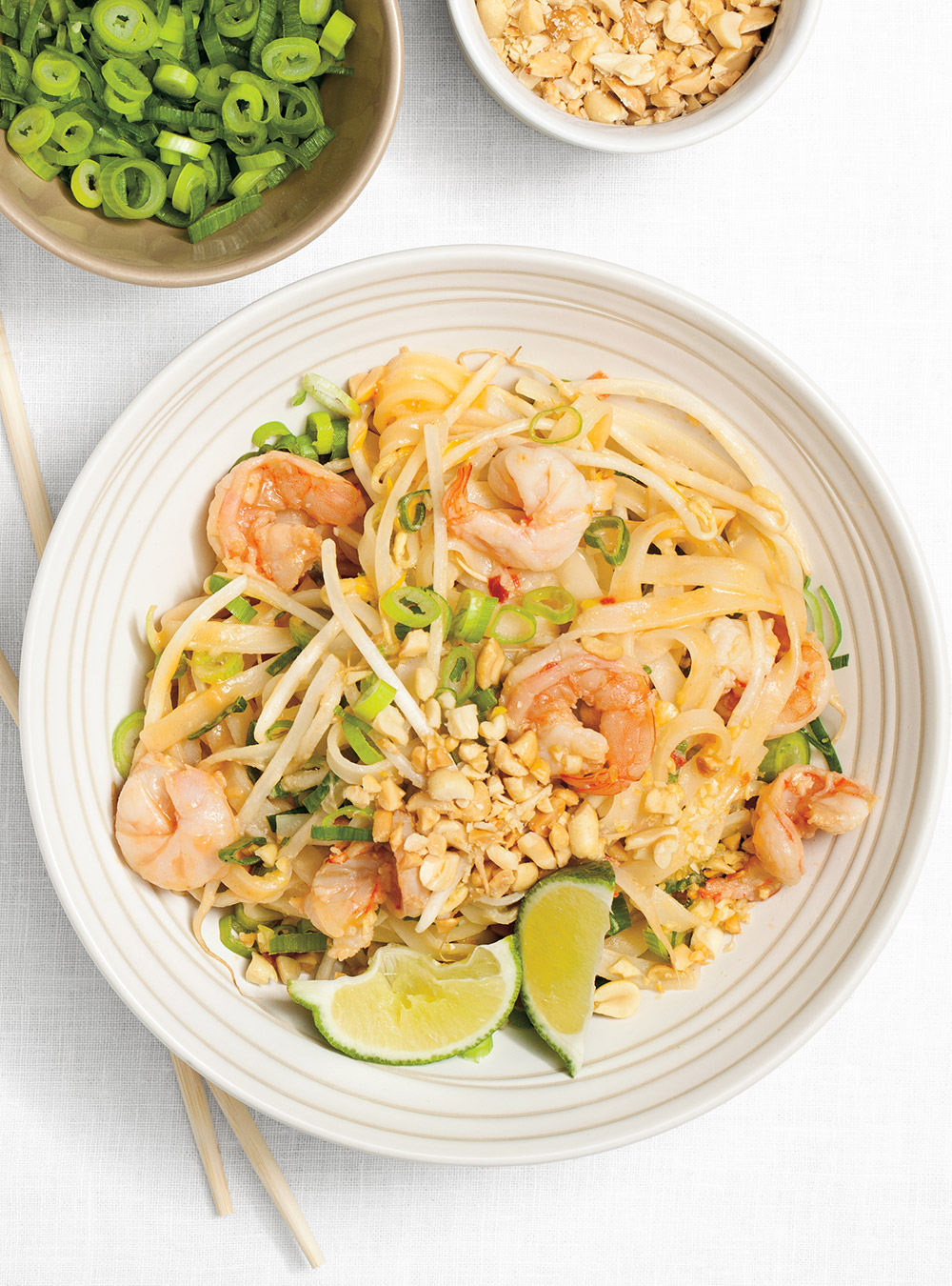 Pad tha aux crevettes ricardo for Cuisine ricardo