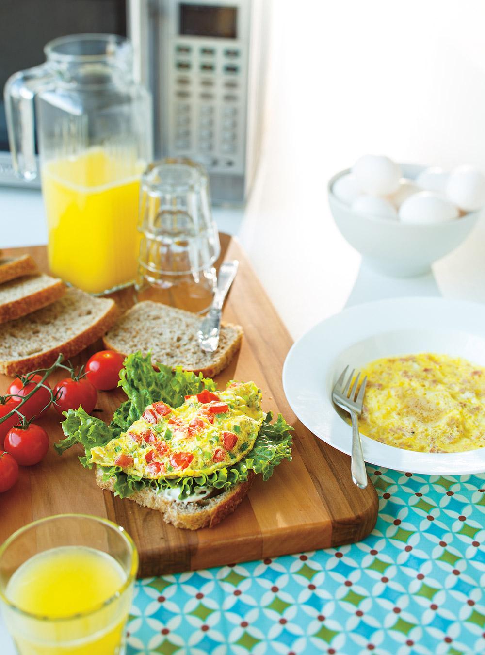 Omelettes faciles au micro ondes ricardo - Cuisine au micro onde livre ...
