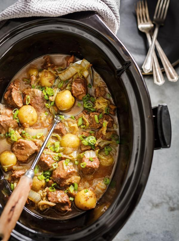 Slow Cooker Pork And Cabbage Ricardo