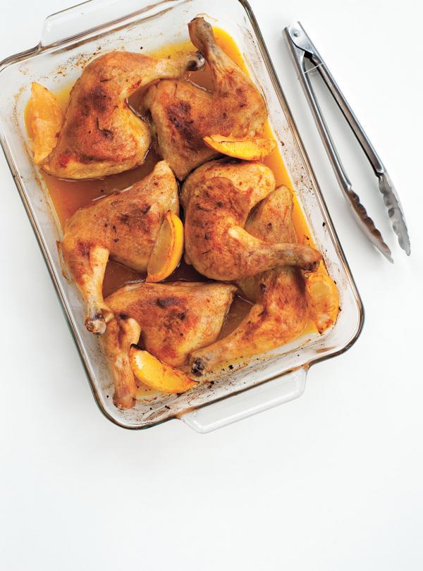 Cuisses de poulet au citron et au paprika ricardo for Article de cuisine ricardo