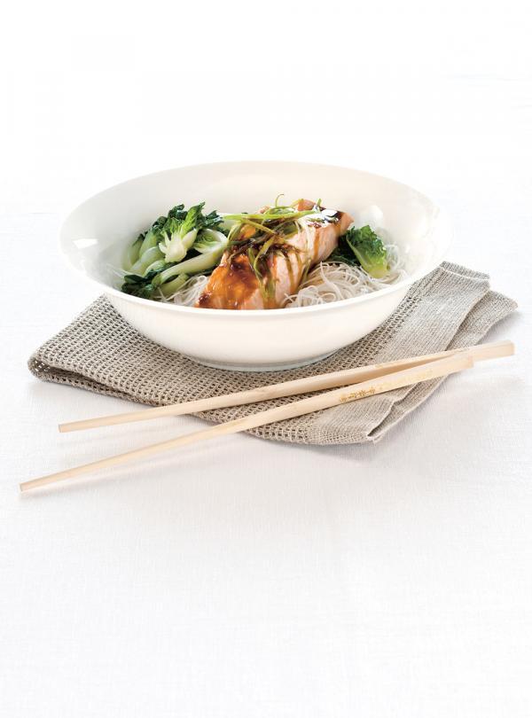 Saumon asiatique à la vapeur   Ricardo