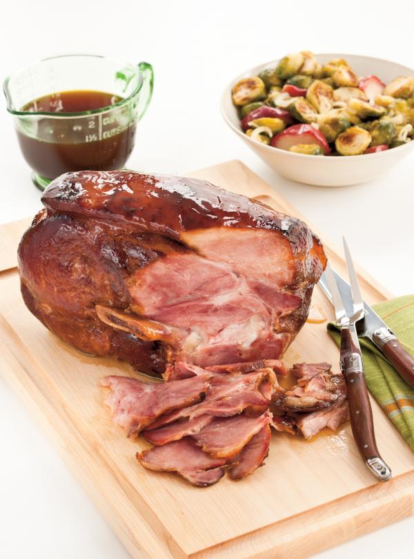 Maple baked ham ricardo for Cuisine ricardo