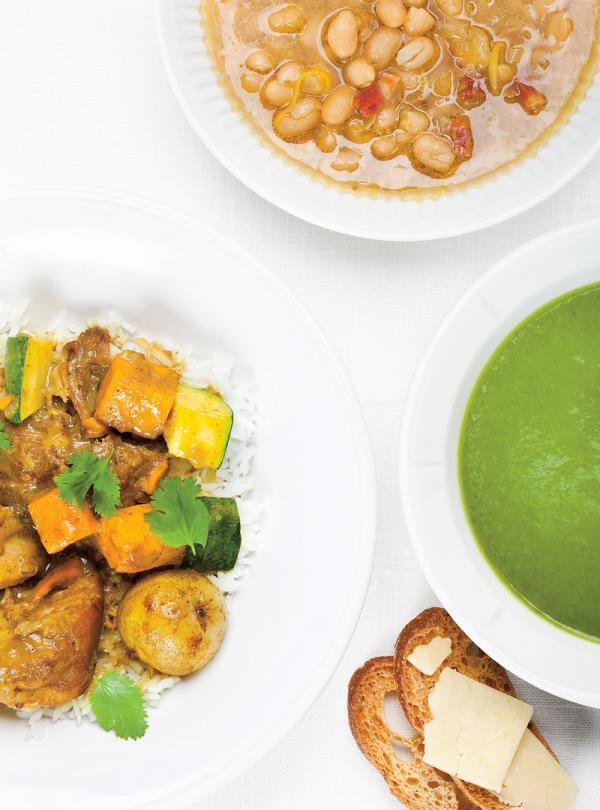 Soupe aux haricots blancs et zeste de citron ricardo for Decoration zeste de citron