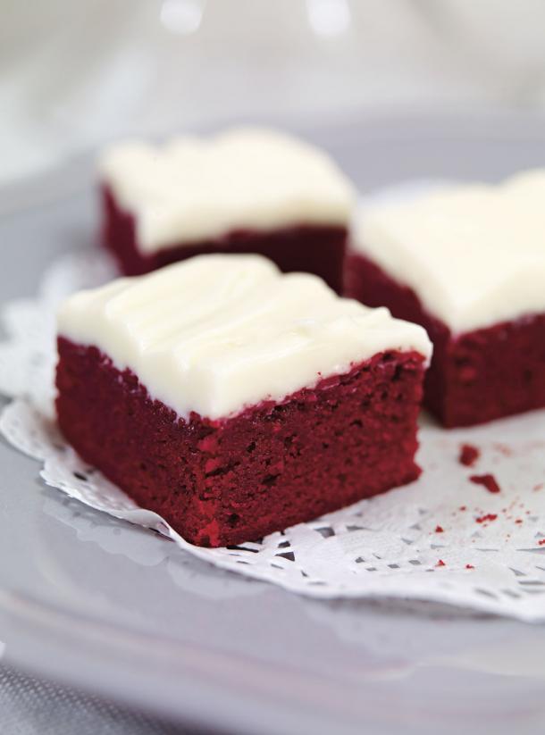 Photo Brownies Red Velvet